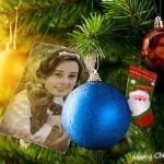 Decoración del arbolito de navidad con tu foto