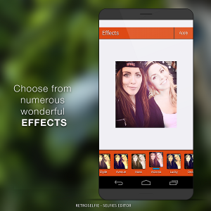 Para tus mejores fotos RetroSelfie -  Editor de Selfies
